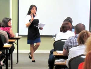 Patty Da Silva Teaching Class