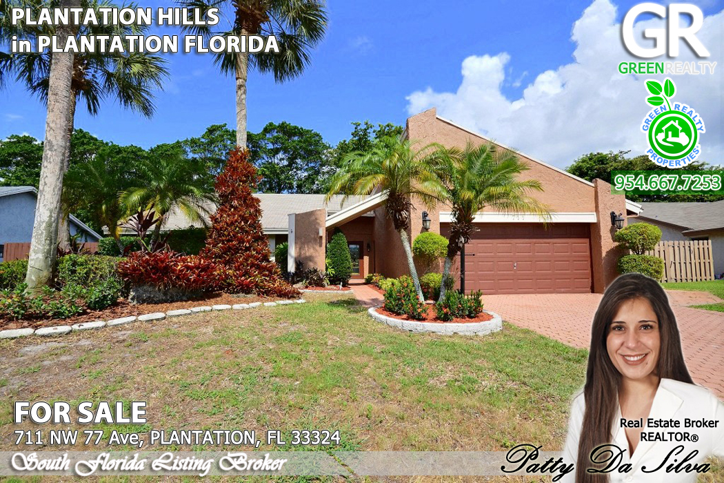 For Sale Home In Plantation 711 Nw 77th Ave