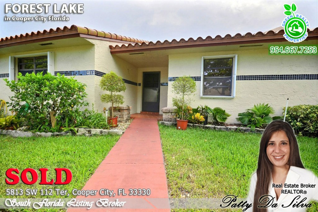 Sold Townhome in Forest Lake Cooper City